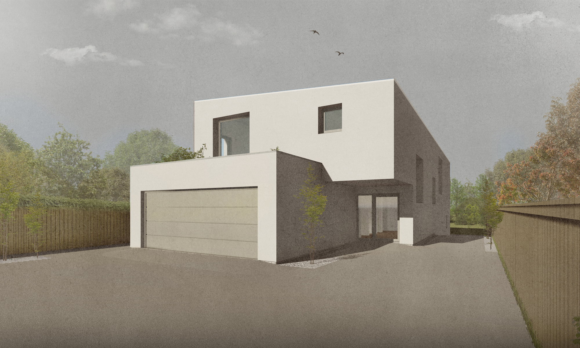 Passive House New build visual Front